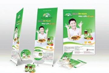 Thiết kế poster, backdrop, banner, standee quảng cáo