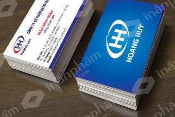 Địa chỉ in card giá rẻ uy tín tại Hà Nội