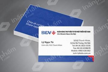 In card visit cho mọi lĩnh vực tại Hà Nội