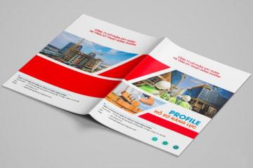 Thiết kế, in ấn hồ sơ năng lực khu vực Cầu Giấy